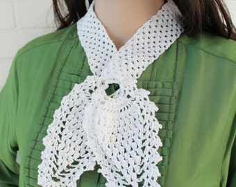 Pineapple Scarf Set Crochet Pattern PDF