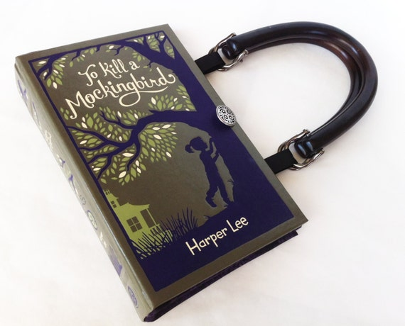 To Kill A Mockingbird Recycled Book Purse