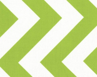 Moda Lime Chevron 32349-19 Half Moon Modern Fabric 1 yard