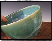 Zen Style Beautiful Turquoise, Green and Blue Bowl/Planter by misunrie