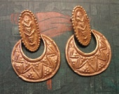 FREE US SHIPPING - Vintage Statement Earrings