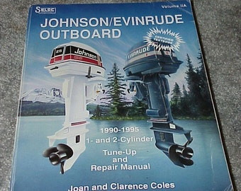 Johnson--EVINRUDE--Outboard--1990-1995 Tune-Up And Repair MANUAL--Soft Cover