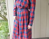 Vintgage Pendleton Skirt and Shirt