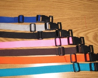 poly webbing belt with clip lock for stroller, swing, high chair, shopping cart strap and more