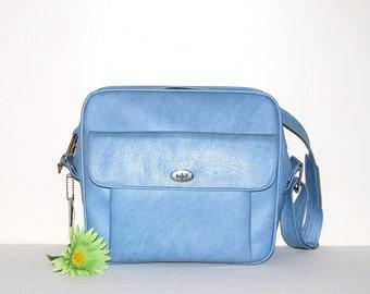 Vintage Tote Ocean Blue