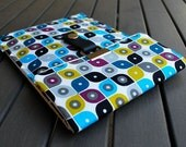Kindle Case / Nook Case / Kobo Case / Other eReaders / Kindle Papwerwhite Cover / Nexus 7 - Mod Tick Tock