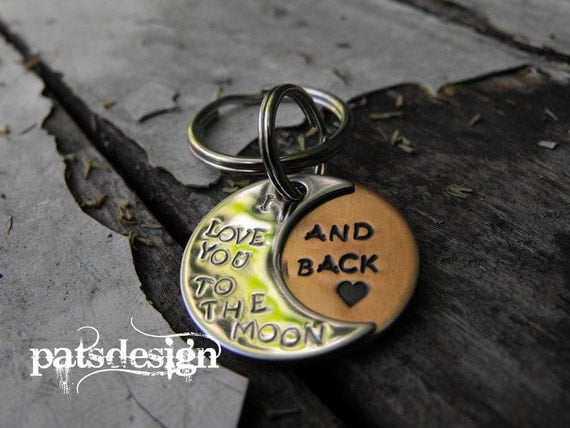 Moon Keychain