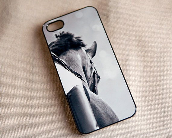 dressage iphone 5 case horse iphone case black and white