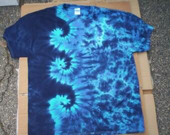 Swirling Waters Tie Dye Size XL