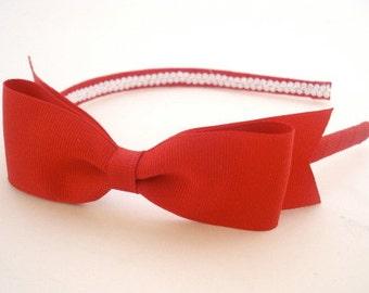 Classic Bow Headband, Choose Color