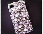 A Girls Best Friend Sparkle Rhinestone Studded Iphone Case