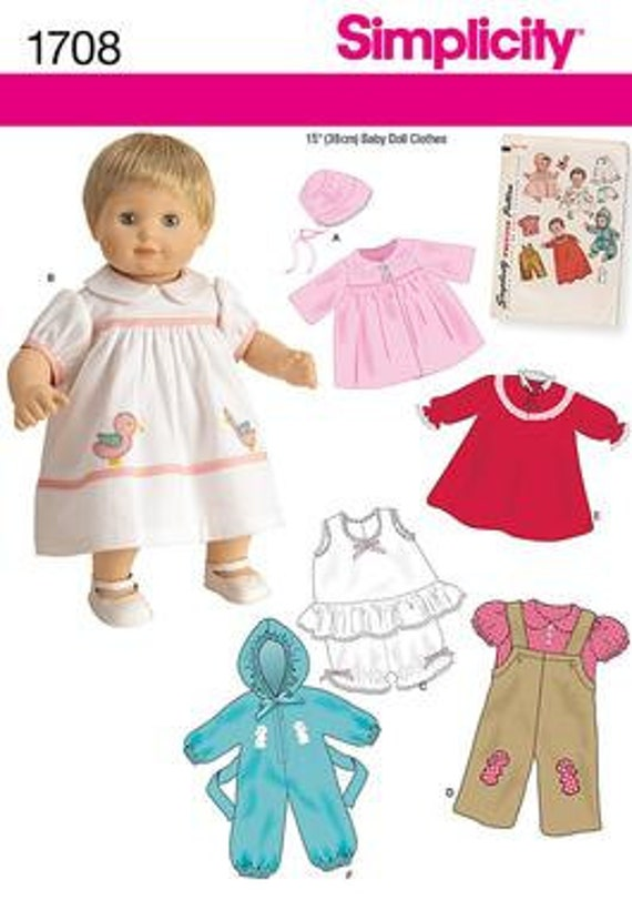 Doll Clothes Patterns For Bitty Baby Free