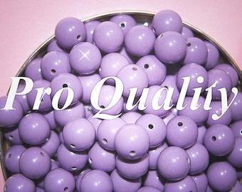 Wholesale 36 Pale Lavender Lucite 10mm Beads FL8