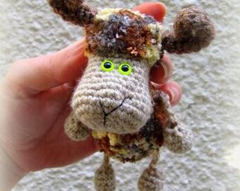 Crochet toy Amigurumi Pattern - Little Aries