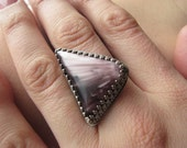 RESERVED For VICTORIA Purple  Victoria Stone Ring