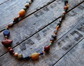 fields and forest necklace