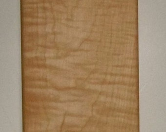 Tiger Maple  Handled Cutting / Bread Board Vermont Made ( Inventory sell out)
