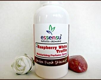 Raspberry White Truffle Hydrating Natural Perfume Body Spray | Non-Toxic Body Spray | Hair Perfume | Travel Size Fragrance | Vegan - 2 oz