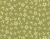 Moda, Sassy Fruit, Ditzy Daisy, Green Fabric, Designer Cotton Quilt Fabric, Tonal Fabric, Quilting Fabric