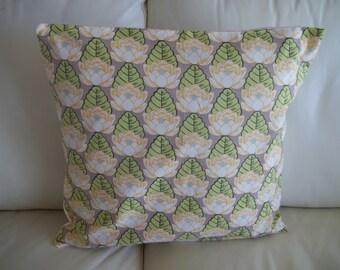 Throw Pillow Cover Amy Butler Lotus Pond 18 x 18