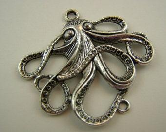 Octopus Squid pendant and/or connector, Team EFA COTM donation item