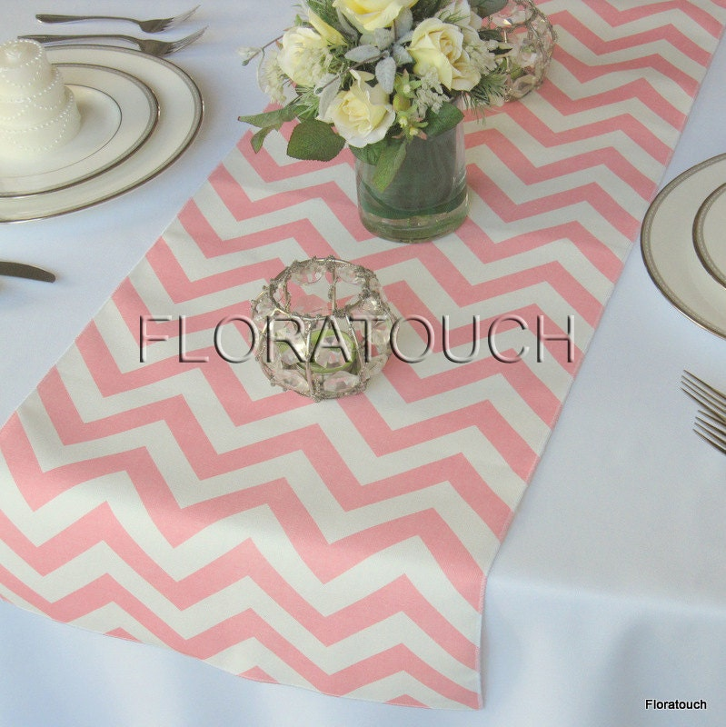 Popular items for chevron table runner on Etsy
