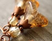 Hesperides Blossom earrings