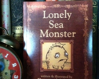 Lonely Sea Monster -- Book