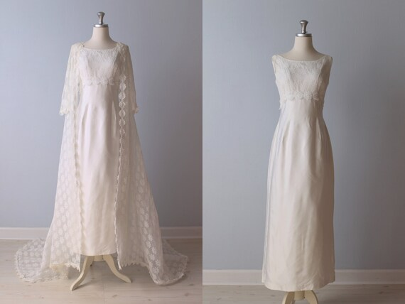 Robe de mariee vintage annee 60
