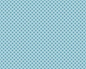 WINTER SALE - Hooty Hoot Returns - FLANNEL - Dots in Blue - sku F3445 -  1 Yard - by  Doohikey Designs for Riley Blake Designs