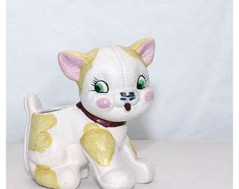 Vintage 50s Lil Kitten Ceramic