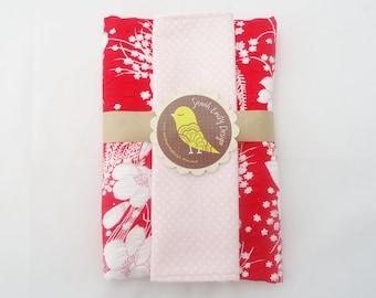 SALE Burp cloth and wash cloth GIFT SET