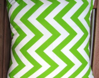 Set of 2 -- Chevron Pillow Covers -- 18 Inch