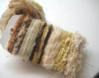 LATTE TO GO Specialty Yarn Fiber Embellishment Bundle - Scrapbooking, Altered Arts, Jewelry - 5 or more bundles 10% off