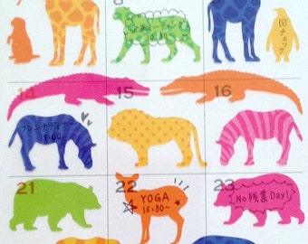 check mark - diary sticker set