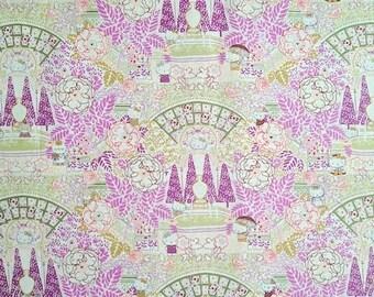 Hello kitty x liberty - season 4 - limited print - Formal Garden - purple