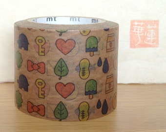 mt washi masking tape - gift wrap - wax paper - special limited edition