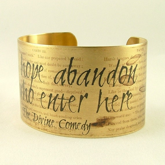 Divine Comedy Quotes: Dante's Inferno All Hope Abandon Ye Who Enter Here The