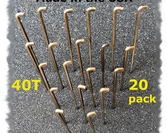 20 Needle Felting Needles Size 40T from Dream Felt