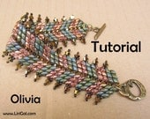 Olivia Superduo Twin Beadwork Bracelet PDF Tutorial