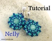 Tutorial Nelly Beaded Earrings PDF