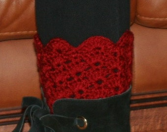Special Value-- Buy The Scalloped Boot Cuff Cro. Pat. pdf & Get Matching Ear Warmer Cro. Pat. pdf FREE---SAVE 4.99