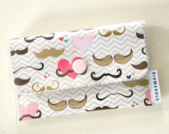 Card Wallet - Mustache Love