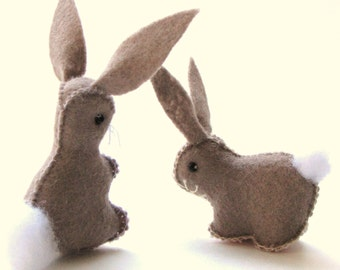 Easter D.I.Y. Mopsy & Flopsy Bunny pdf Pattern and Instructions --INSTANT DOWNLOAD--