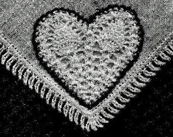 Heart Motif Crochet Pattern - 723148