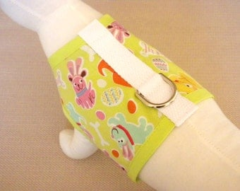 Easter Bunny Dog Harness Vest