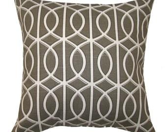4th of July Modern Throw Pillow - Dwell Studio Bella Porte Brindle modern Decorative Throw Pillow Free Shipping