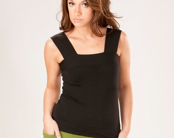 Organic Everyday Tank Top - Custom Made - Choose Your Color