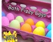 Egg Shaped: Fizzies by the Dozen with Shea Butter