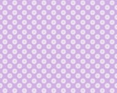Baby Birds Daisies in Lavender by Studio E - 1 Yard